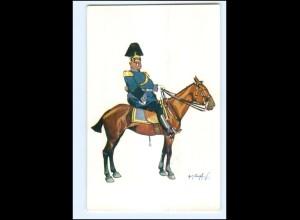 XX11091/ Schönpflug AK Militär Soldat Offizier zu Pferde ca.1905