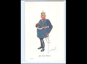 XX11094/ Schönpflug AK Militär Der Herr Oberst ca.1905