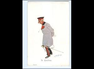 XX11100/ Schönpflug AK Militär Se. Exzellenz 1903