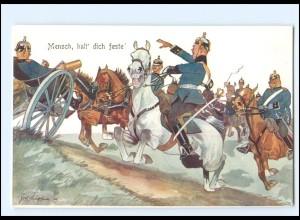 XX11106/ Schönpflug AK Militär, Soldaten zu Pferde 1909
