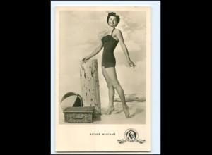 S2461/ Esther Williams im Badeanzug Foto AK Kunst und Bild ca.1960