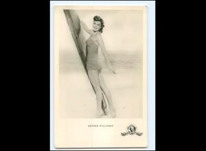 S2463/ Esther Williams Foto AK Kunst und Bild ca.1960
