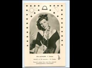 S2470/ Rita Hayworth Foto AK Kunst und Bild ca.1960