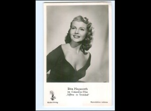 "S2474/ Rita Hayworth ""Affäre in Trinidad"" Kolibri Foto AK ca.1960"