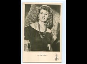 S2464/ Rita Hayworth Foto AK Kunst und Bild ca.1960