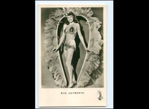 S2466/ Rita Hayworth Foto AK Kunst und Bild ca.1960