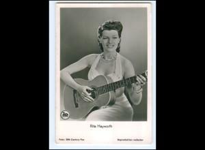 S2458/ Rita Hayworth mit Gitarre Rüdel Foto AK ca.1960