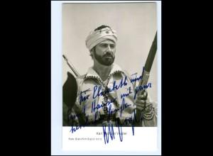 S2426/ Karl Michael Vogler Autogramm als Kara Ben Nemsi Karl May AK