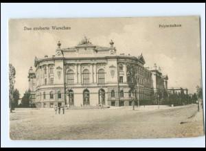 Y17575/ Warschau Polytechnikum Polen AK 1916