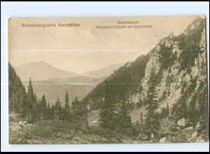Y17733/ Siebenbürgische Karpathen Butschetsch Malajester-Schlucht Rumänien AK