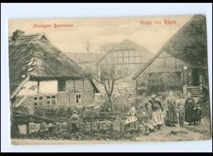 Y17580/ Rügen Mönchguter Bauernhaus AK 195