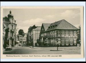 Y17582/ Hamburg Bergedorf Gasthaus Stadt Hamburg AK 1961