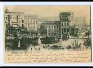 Y17586/ Berlin Bell Alliance-Platz AK 1898