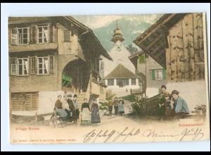 Y17589/ Village Suisse Schweizerdorf AK 1901