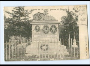 Y17590/ Denkmal der 25. (Hess.) Division bei Habonville AK 1904