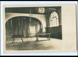 Y17726/ Hamburg Turnhalle eventuell E.T.V. Eimsbüttel Foto AK ca.1920