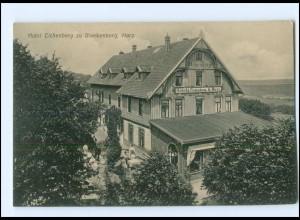 Y17716/ Blankenburg Harz Hotel Eichenberg AK ca.1910