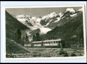 Y17511/ Berninabahn AK Schweiz AK Bergbahn