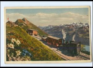 Y17512/ Brienz-Rothorn Bergbahn AK 1932 Schweiz