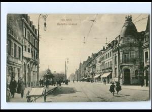 Y17528/ Colmar Rufacherstr. AK Elsaß 1916