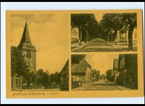 Y17539/ Rotenburg Goethe Str., Soltauer Str. Ak ca.1940