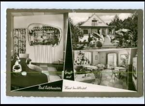 Y17557/ Bad Salzhausen Haus im Winkel AK ca.1965
