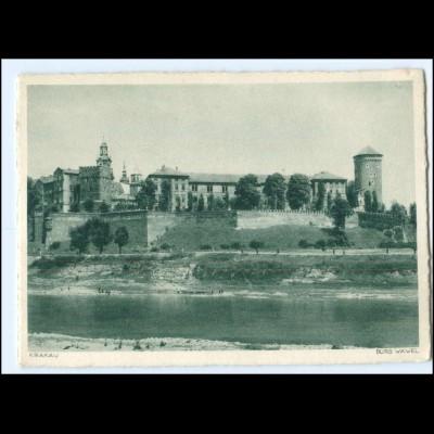 Y17474/ Krakau Burg Wawel AK Berlag: H. Hoffmann AK ca.1940