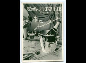 Y17435/ Reklame Werbung AK Fissler Sektkühler ca.1960