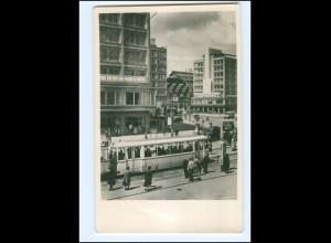 Y17450/ Berlin Alexanderplatz Straßenbahn AK 1954