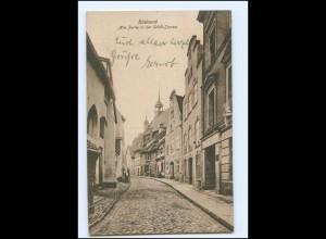 Y17467/ Stralsund Schill-Straße AK 1925