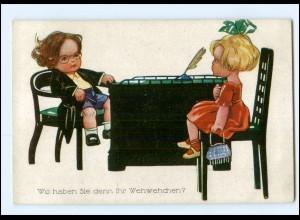 Y17648/ Kinder Arzt Doktor Künstler AK ca.1920