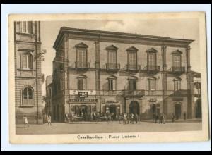 V846/ Casalbordino Piazza Umberto I. Italien AK 1925