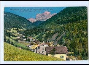 V847/ Welschnoven a.d. Dolomitenstraße AK Südtirol AK ca.1912