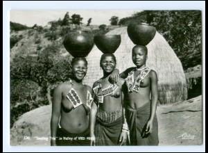Y17696/ Junge Frauen nackt Süd-Afrika AK 1962