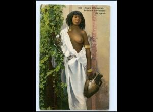 Y17701/ Lehnert & Landrock AK junge Frau Beduinen nackt Orient Afrika AK ca.1910