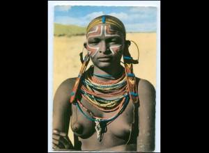 Y17669/ Junge Frau nackt A Rendille Belle Afrika AK 1969 Kenia
