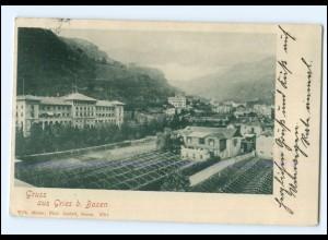 S2511/ Gruß aus Gries bei Bozen Südtirol Italien AK 1900