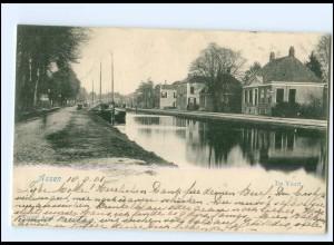 S2524/ Assen De Vaart AK 1901 Niederlande