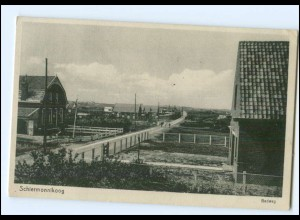 S2572/ Schiermonnikoog Badweg AK Niederlande 1937