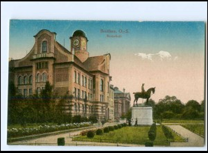 S2535/ Beuthen Realschule AK Schlesien ca.1912