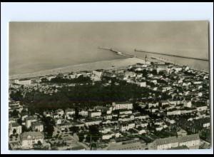 S2532/ Warnemünde Fliegeraufnahme Foto Ak ca.1930
