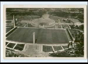 XX11113/ Olympiade 1936 Berlin Reichssportfeld Foto AK