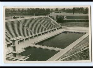 XX11116/ Olympiade 1936 Berlin Schwimmstadion Foto AK