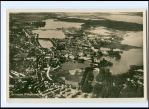 XX11148/ Schwerin Fliegeraufnahme Foto AK ca.1935
