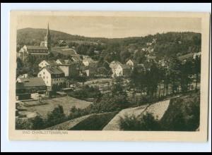 XX11155/ Bad Charlottenbrunn Schlesien AK 1927