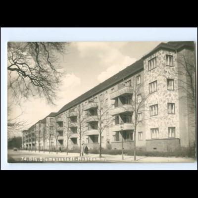XX11189/ Berlin Siemensstadt Rohrdamm Foto AK 50er