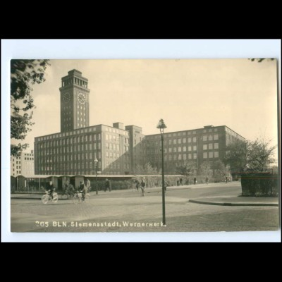 XX11192/ Berlin Siemensstadt Wernerwerk Foto AK 50er
