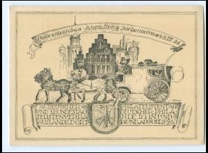 XX11181/ Ganzsache PP91 C1 Dortmund Postwertzeichen-Ausstellung 1926