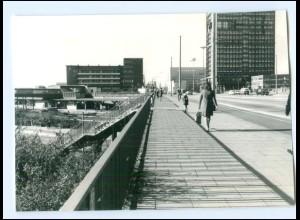 V904/ Hamburg Borgfelde Bahnhof Berliner Tor Foto 1972 14,5 x 10 cm