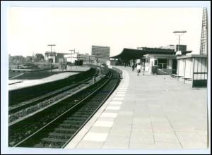 V903/ Hamburg Borgfelde Bahnhof Berliner Tor Foto 1972 14,5 x 10 cm
